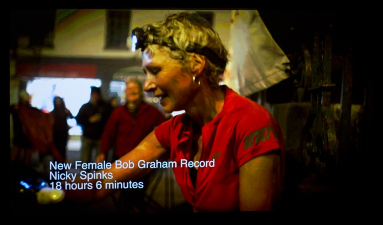 Nicky Spinks BGR Record end Shot