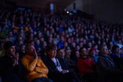 Tommy Caldwell audience