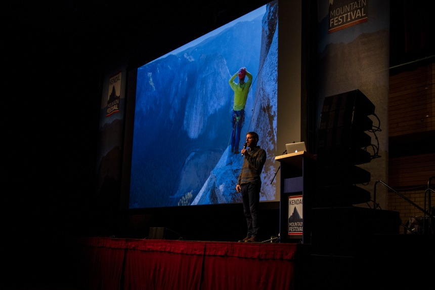 Tommy Caldwell Full stage