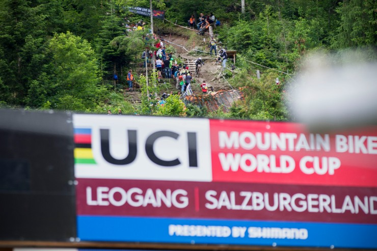 Leogang Dropping in Sign