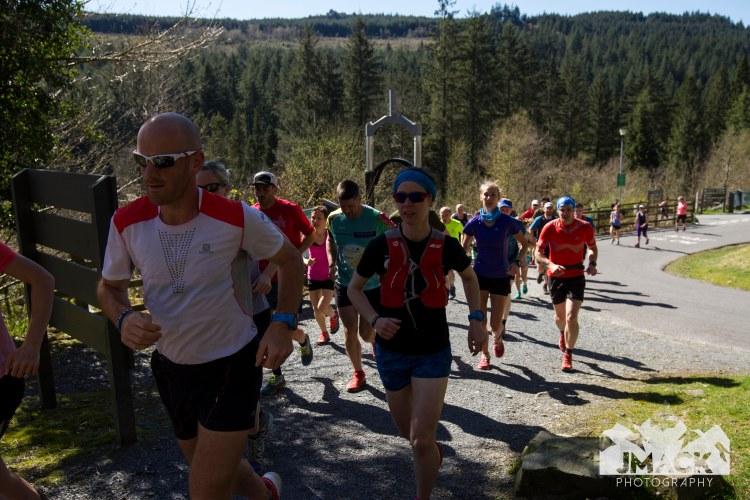 Run Coed Y Brenin Ultra Weekend 6 mile start