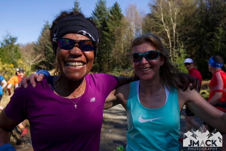 Run Coed Y Brenin Ultra Weekend 6 mile two runners