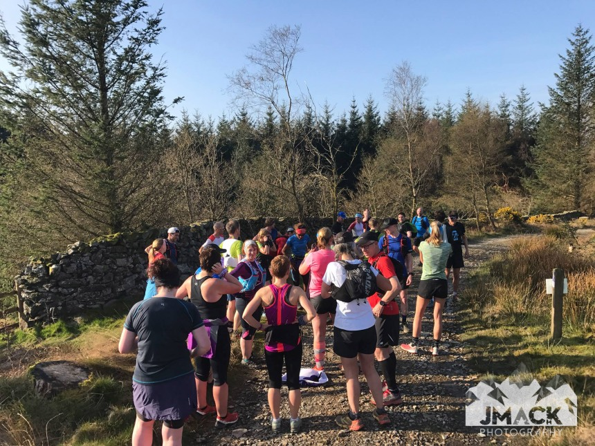 Run Coed Y Brenin Ultra Weekend Day 2 run 1