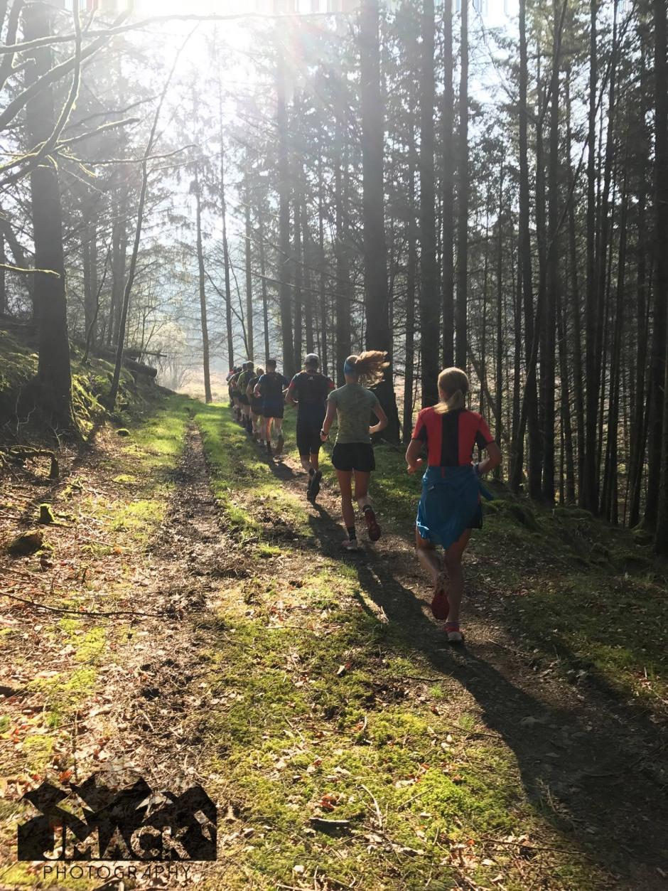 Run Coed Y Brenin Ultra Weekend Day 2 run 4