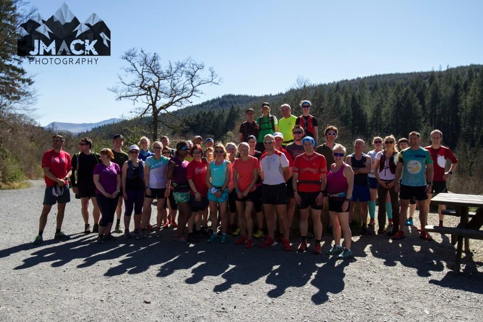 Run Coed Y Brenin Ultra Weekend group