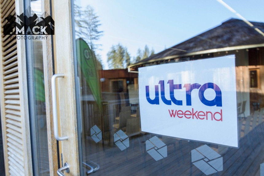 Run Coed Y Brenin Ultra Weekend sign