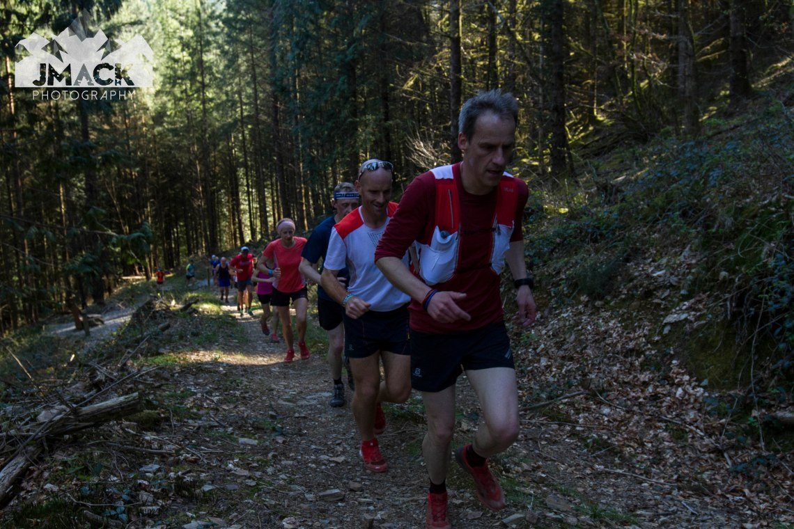 Run Coed Y Brenin Ultra Weekend sting