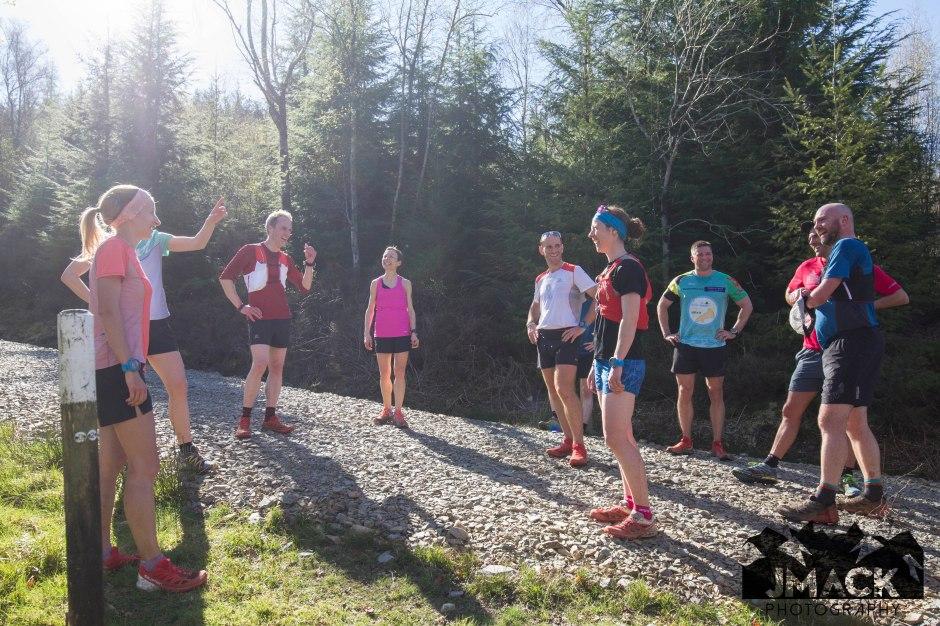 Run Coed Y Brenin Ultra Weekend top of sting