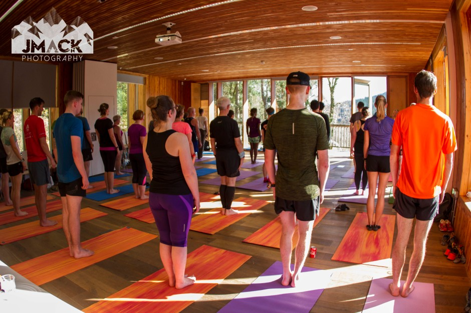 Run Coed Y Brenin Ultra Weekend yoga 2