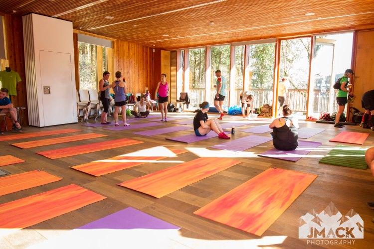 Run Coed Y Brenin Ultra Weekend yoga 5