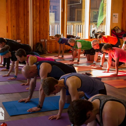 Run Coed Y Brenin Ultra Weekend yoga