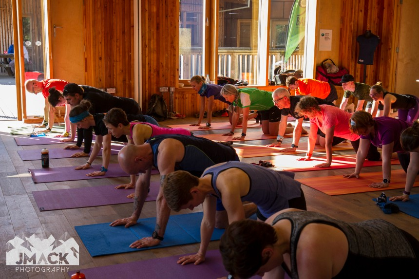 Run Coed Y Brenin Ultra Weekend yoga