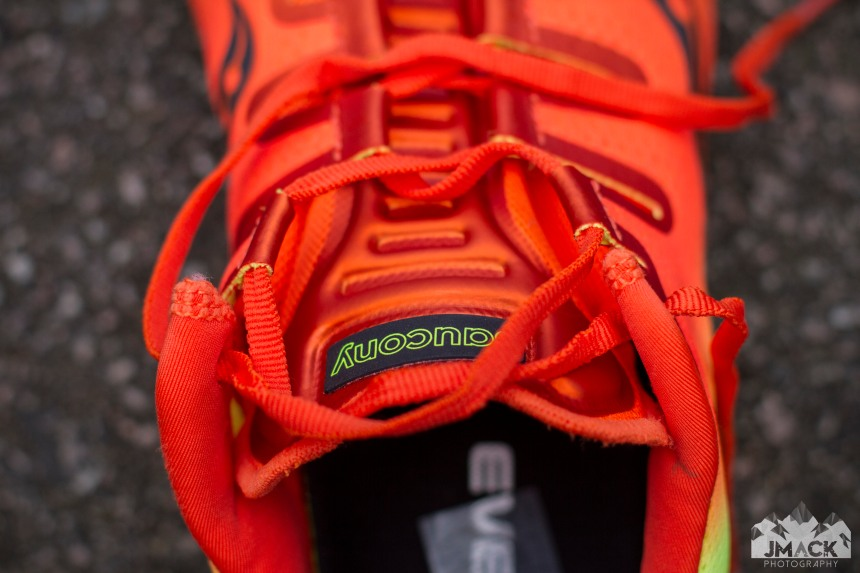 Saucony Freedom ISO Tongue