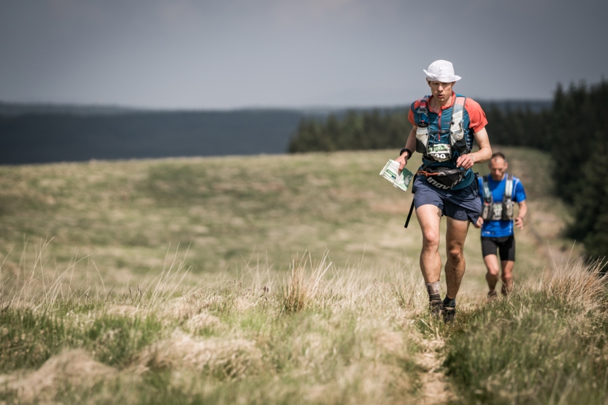 6 Neil Talbott ran strongly on day four of the Berghaus Dragon's Back Race - photo Ciancorless.com