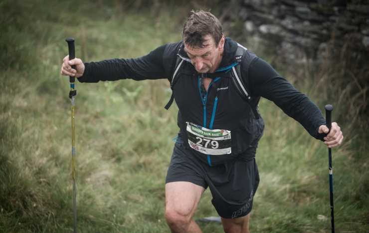 7 Joe Faulkner on day two of the Berghaus Dragon's Back Race - photo Ciancorless.com