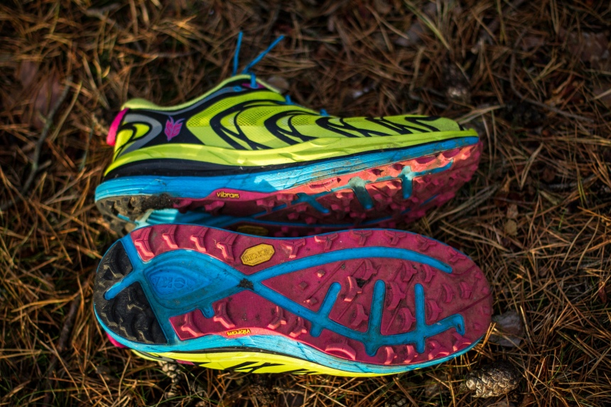 hoka speedgoat side & grip