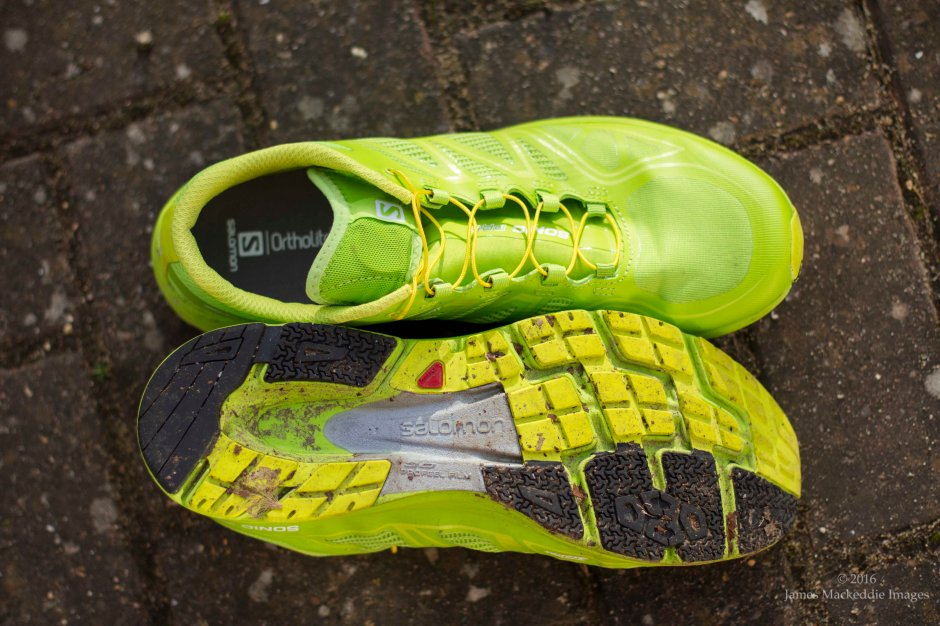 Salomon Sonic Pro sole & top