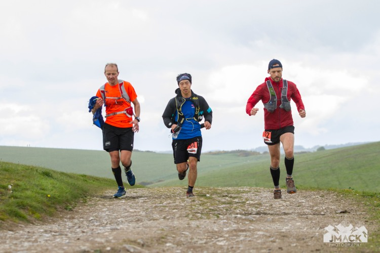 South Downs Way Devil's Challenge Day 3 tops tripple