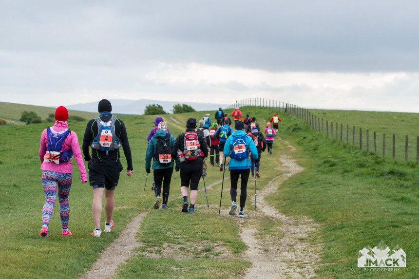 South Downs Way Devil's Challenge Day 3 walkers
