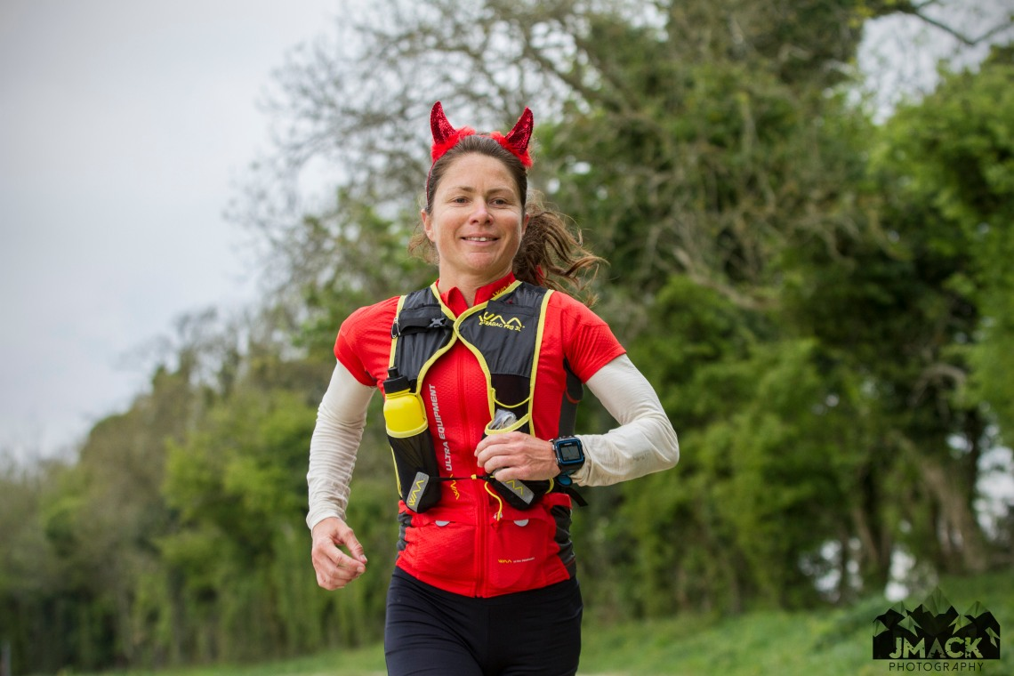 XNRG Devils Challenge Day 1 Anna running front