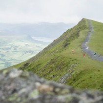 Mountain Fuel Billy Bland Relay Blencathra Before Parachute