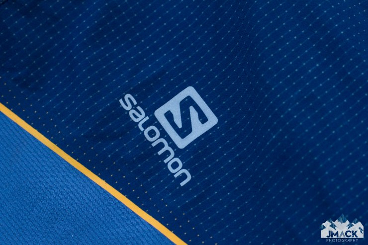 Salomon Fast Wing HZ logo detail