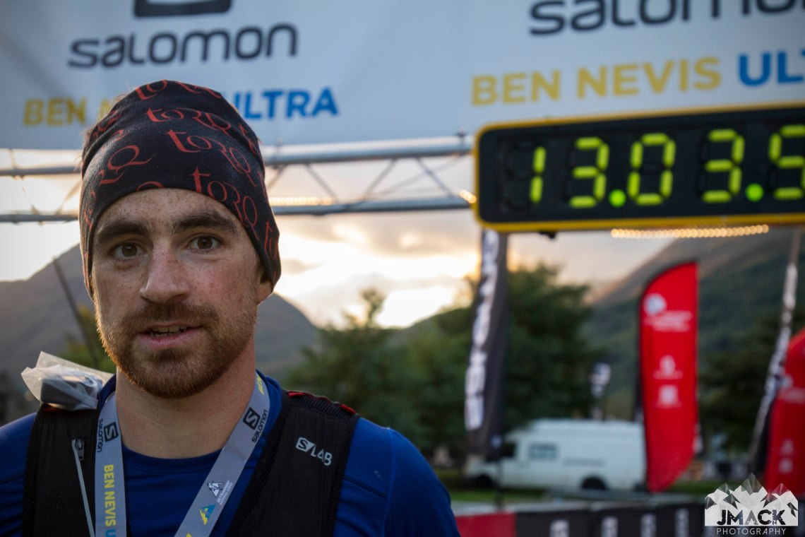 Ben Nevis Ultra Mike Jones Finish 2
