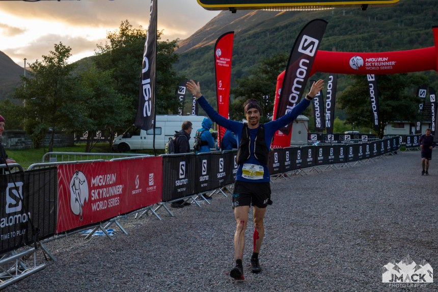 Ben Nevis Ultra Mike Jones Finish 5