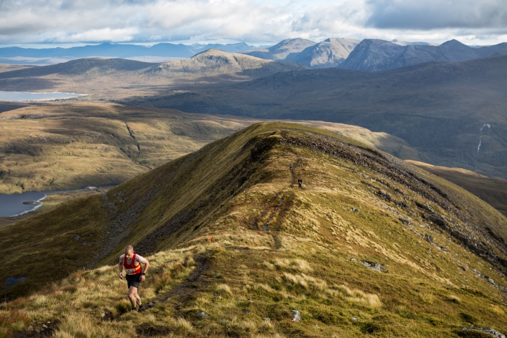 Incredible scenery on offer in the Scottish Highlands