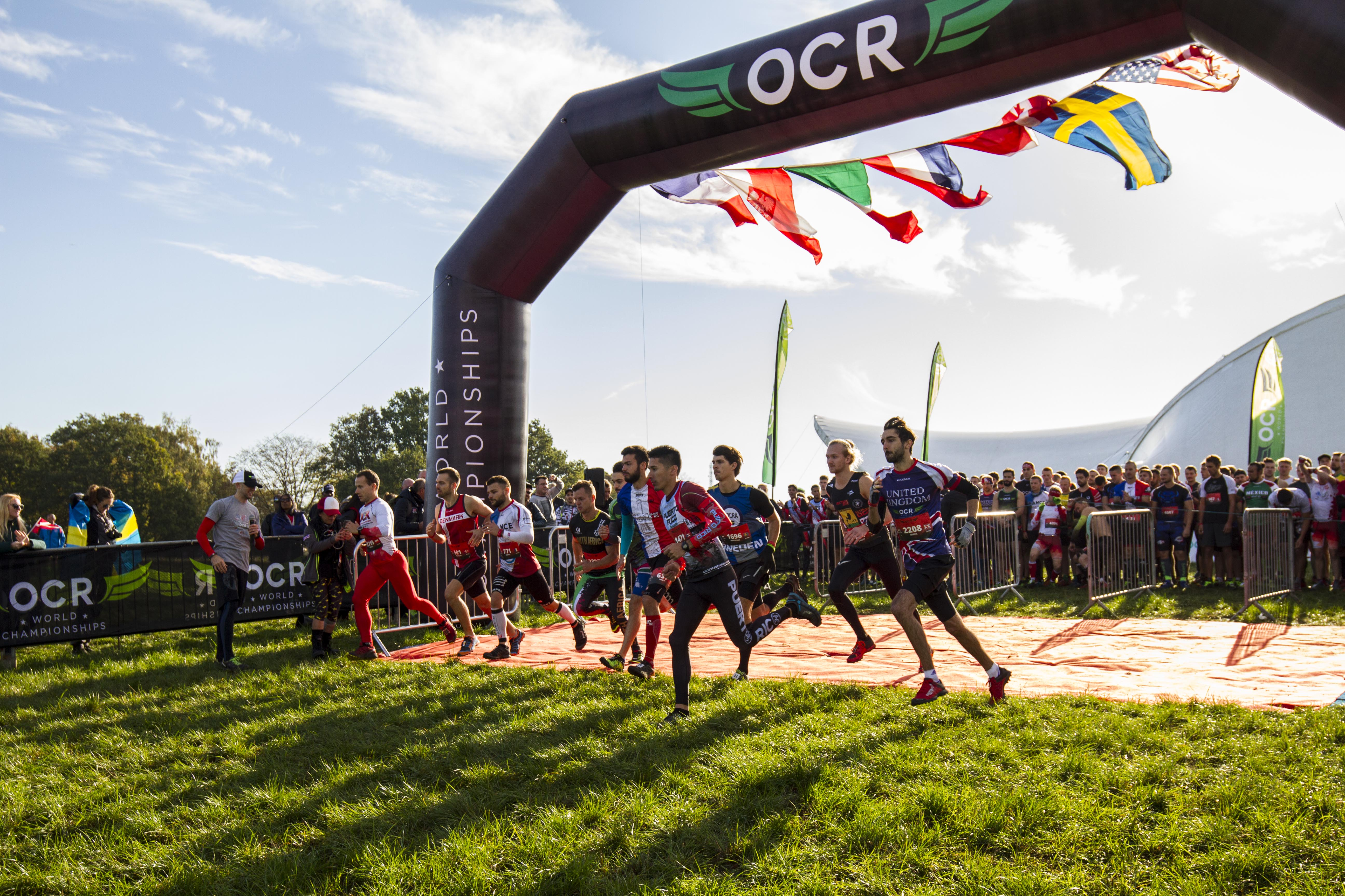 INOV 8 PARTNERS WITH OBSTACLE COURSE RACING WORLD