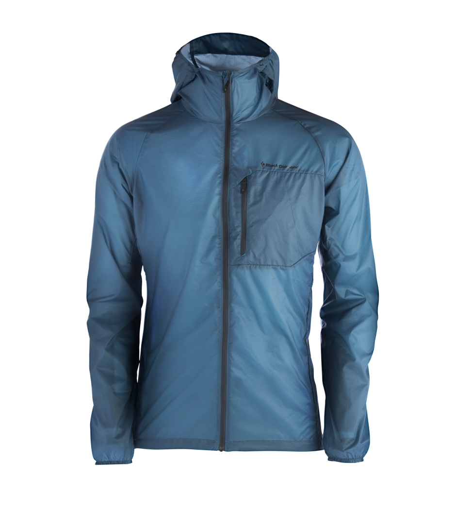 BD Distance Wind Shell Blue
