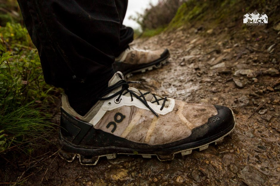 On Running Cloudventure Peak MUD 1