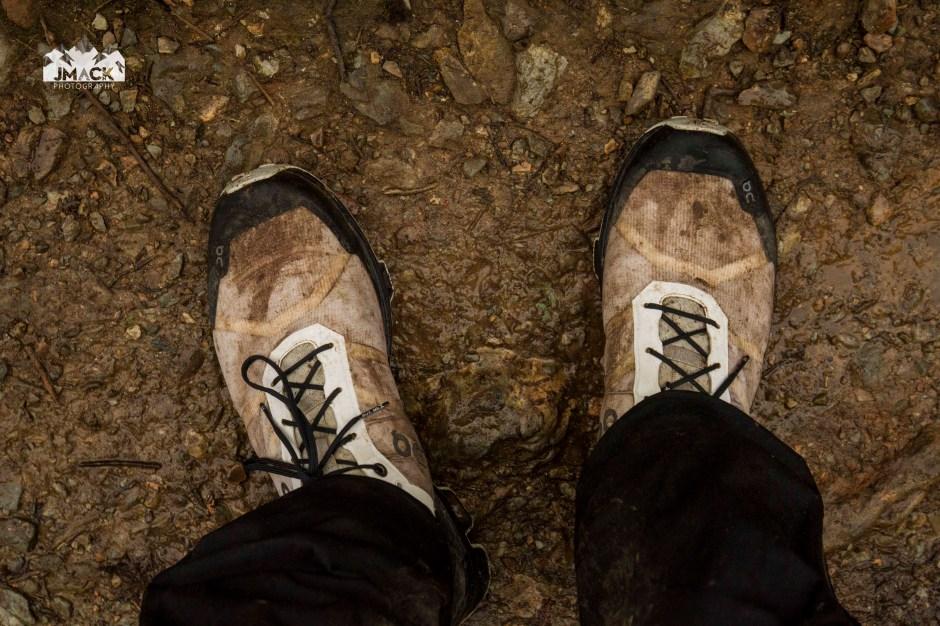 On Running Cloudventure Peak MUD 2