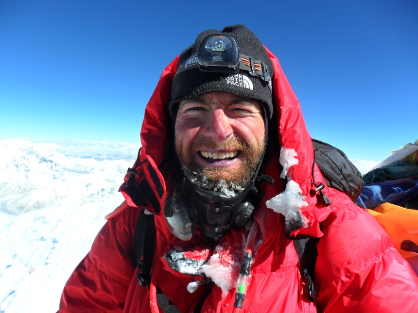 On the summit of everest on 11.05.2011